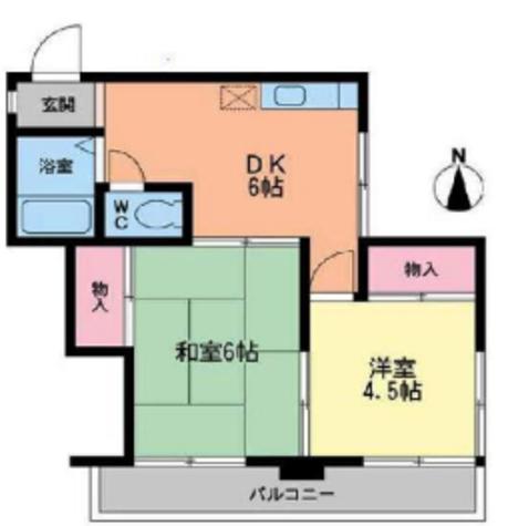 ガーデンテラス川崎 BC / 3階 部屋画像1