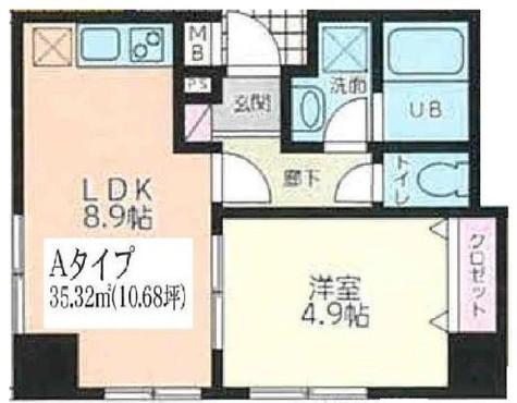 ウィステリア品川二葉 / 1階 部屋画像1