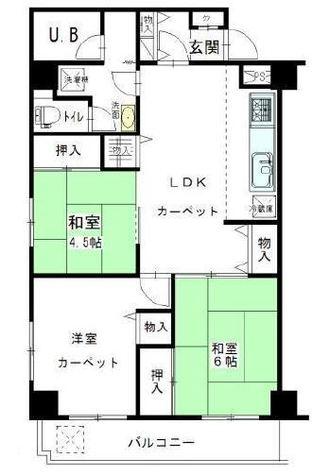 サンロイヤル東山 / 3階 部屋画像1