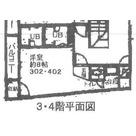 若林明和マンション / 402 部屋画像1