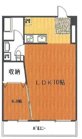 目黒ロイヤルプラザ / 202 部屋画像1