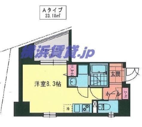 MY桜木町(マイ桜木町) / 8階 部屋画像1