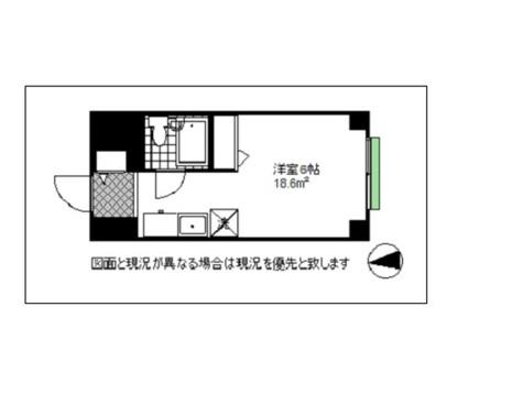 カーサ幡ヶ谷 / 5階 部屋画像1