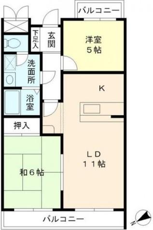 ヒルハイツ妙蓮寺 / 2階 部屋画像1