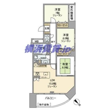 ライフレビュー横浜関内スクエア / 7階 部屋画像1
