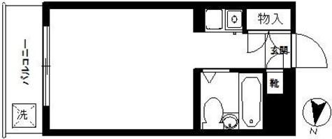 ヴァンハウス白楽 / 3階 部屋画像1