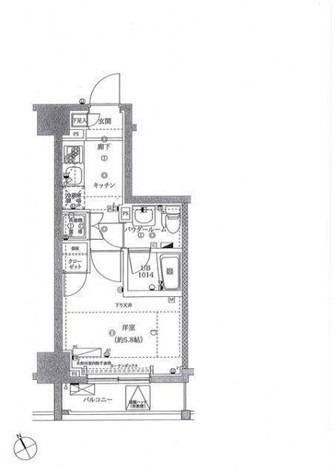 スパシエフルス綱島 / 2階 部屋画像1