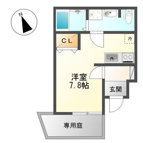 クレシア本郷台 / 1階 部屋画像1