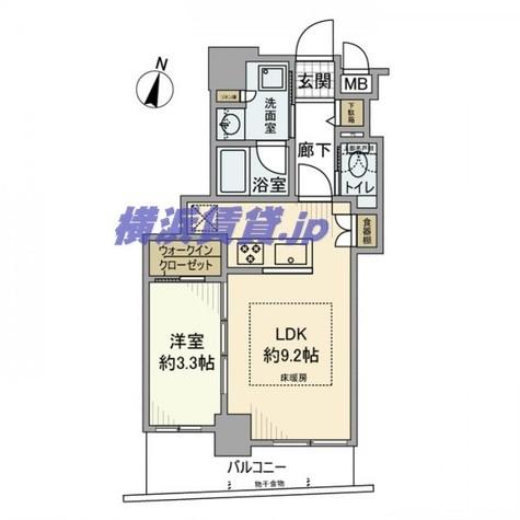 リシャール横濱元町 / 5階 部屋画像1