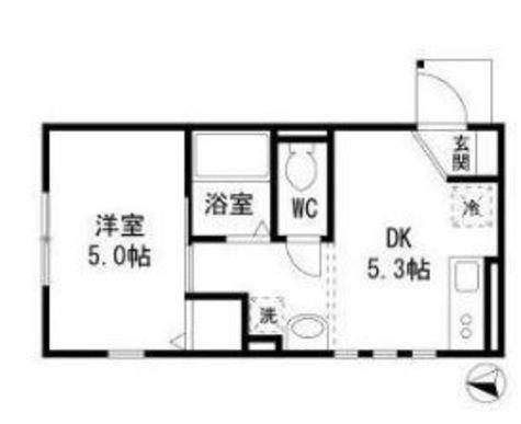 ラ・カーサ多摩川Ⅱ / 1階 部屋画像1