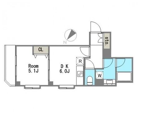 ダイナシティ三田 / 6階 部屋画像1