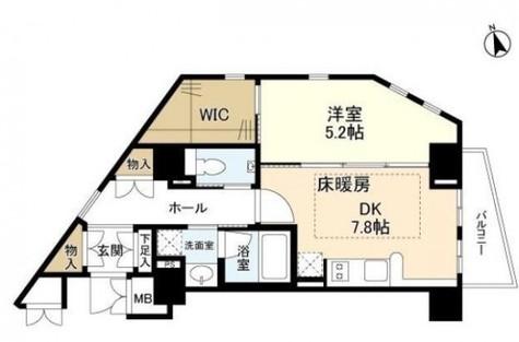 Ebisu-Mukoyama-Sky Heights(恵比寿向山スカイハイツ) / 3階 部屋画像1