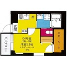 b'CASA Yokohama Higashi / 304 部屋画像1