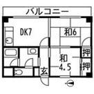 第2オオトリハイツ / 3階 部屋画像1