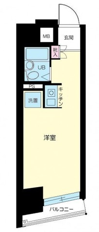 ネオマイム新子安 / 6階 部屋画像1