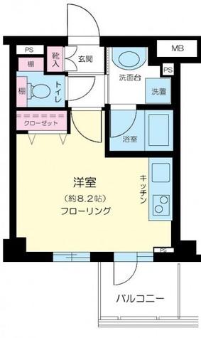 ドメイン横濱元町 / 3階 部屋画像1