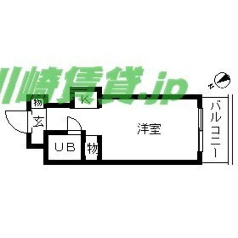 TOP川崎第8(トップ川崎第8) / 2階 部屋画像1