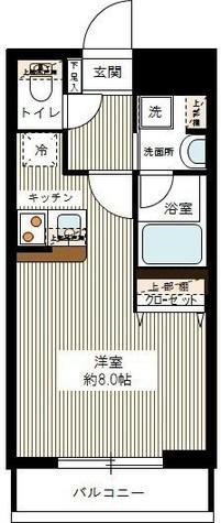 (仮称)大森山王マンション / 2階 部屋画像1