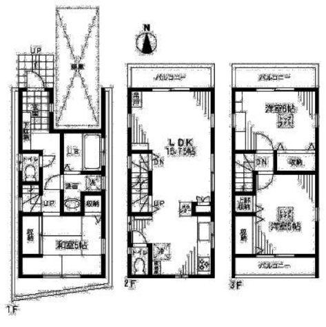 ヴィレッジハウス / 1階 部屋画像1