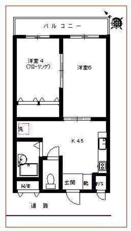 ダイイチヒルズ / 2階 部屋画像1