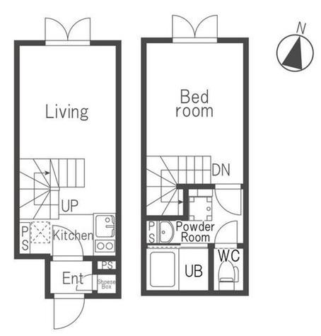 ラピス原宿Ⅲ / 4階 部屋画像1