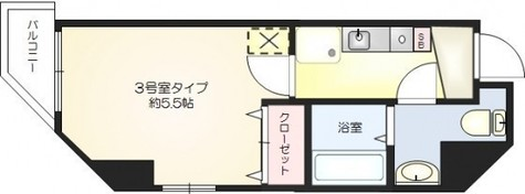 ベレール大井町 / 7階 部屋画像1