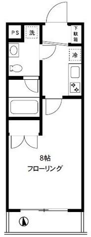 MITEZZA大森Ⅱ(ミテッツア大森Ⅱ) / 3階 部屋画像1