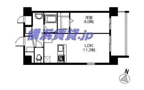 ノースストリート湘南C-X / 7階 部屋画像1