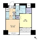 パークリュクス銀座mono / 502 部屋画像1