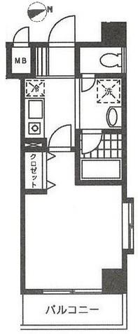 ロンスリー・ウエスト / 3階 部屋画像1