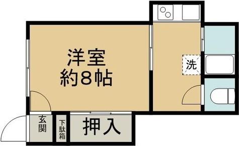 須賀荘 / 1階 部屋画像1