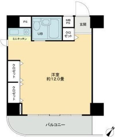 ライオンズプラザ新横浜 / 10階 部屋画像1