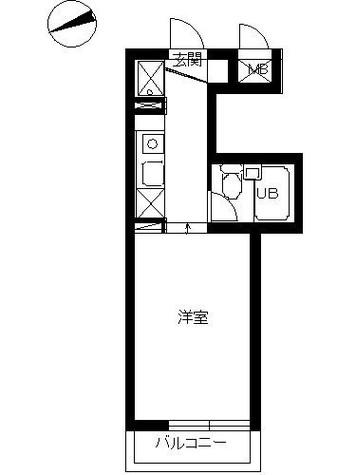 スカイコート横浜富岡 / 405 部屋画像1