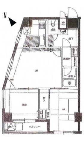 セントヒルズ東日暮里 / 5階 部屋画像1