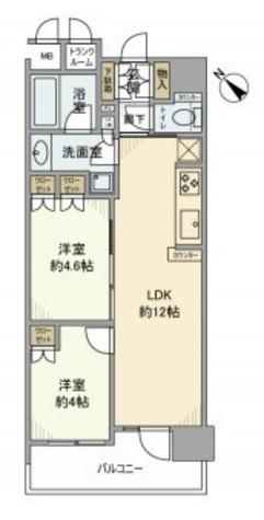 プレシエ横浜石川町 / 11階 部屋画像1