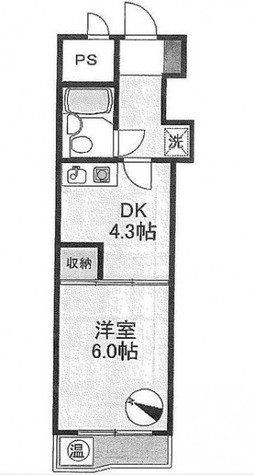 光シャンブル品川東八ツ山公園 / 4階 部屋画像1