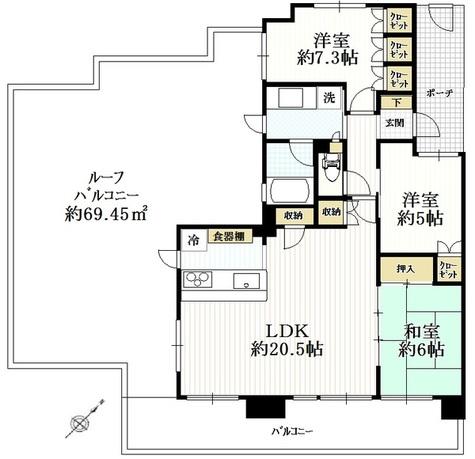 ヨコハマオールパークス / 10階 部屋画像1