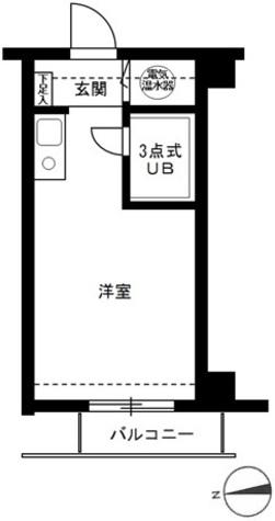 ライオンズマンション麻布十番第3 / 3階 部屋画像1
