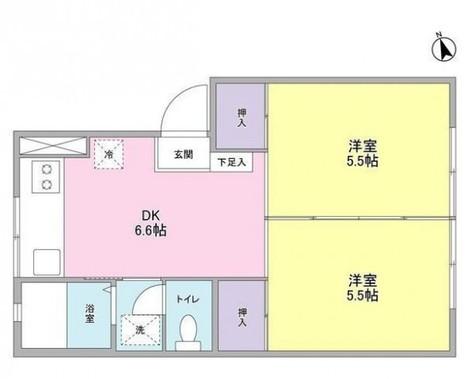 コウワマンション / 1階 部屋画像1