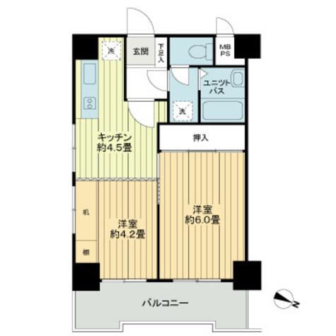 ライオンズマンション下目黒 / 802 部屋画像1