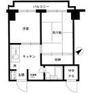 プチモンド四谷 / 9階 部屋画像1