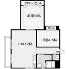 ローヤル若葉 / 5階 部屋画像1