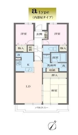 フレグランス相武台 / 3階 部屋画像1