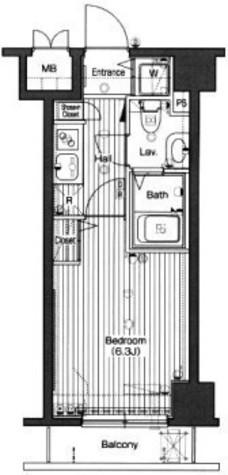 グランド・ガーラ高輪 / 10階 部屋画像1