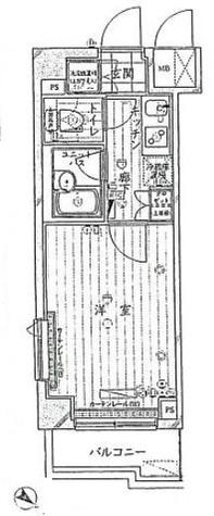 ルーブル鵜の木参番館 / 3階 部屋画像1