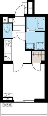 リブリ・御殿山 / 2階 部屋画像1