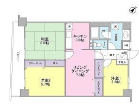 サンライズ品川 / 2階 部屋画像1