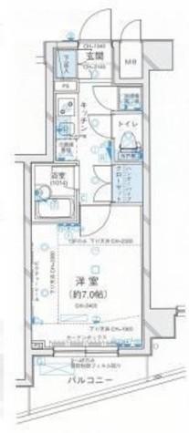 パレステュディオ三田 / 1303 部屋画像1
