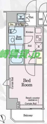 ルーブル新丸子 / 2階 部屋画像1