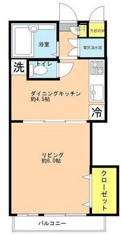 田町ダイヤハイツ / 6階 部屋画像1